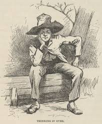 huck finn analysis Is huck in the adventures of huckleberry finn, by mark twain, a good literary character for young readers today he is seen at the outset of the novel as.